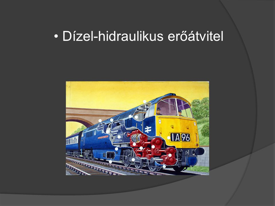 Dízel-hidraulikus erőátvitel