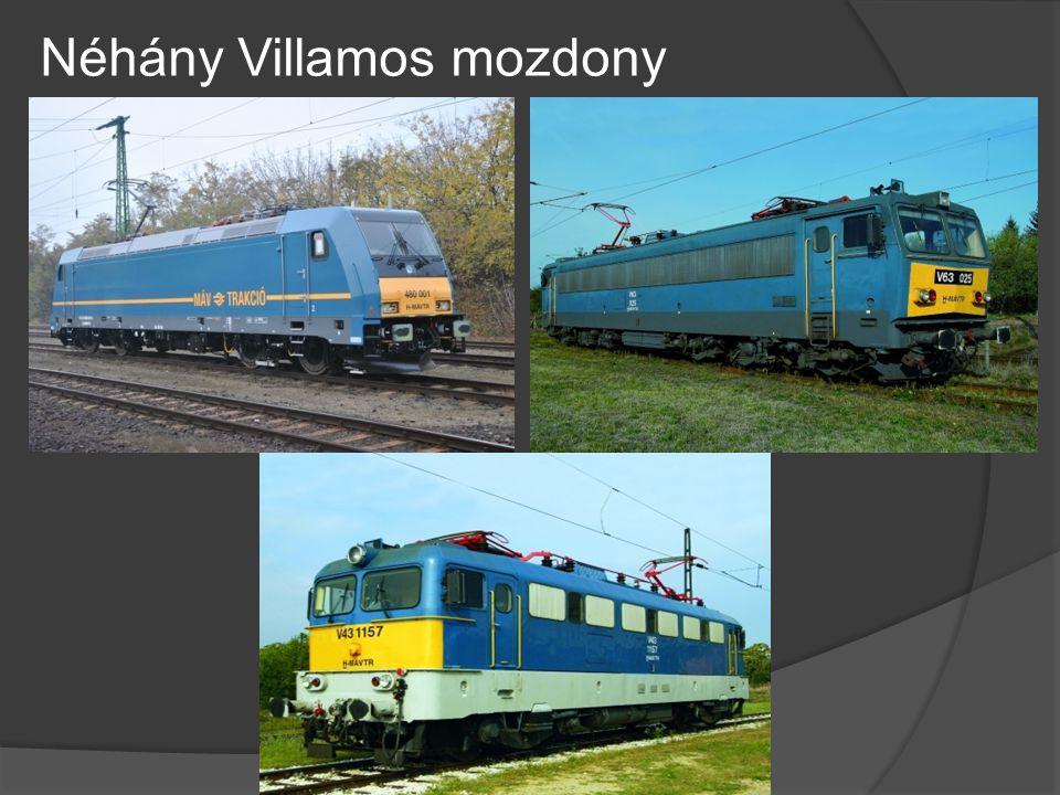 Néhány Villamos mozdony