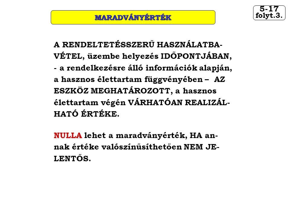 MARADVÁNYÉRTÉK 5-17. folyt.3.