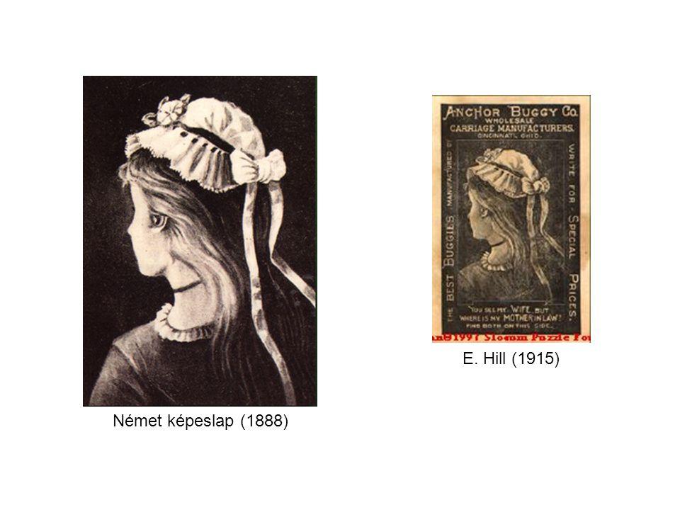 Német képeslap, névtelen alkotótól, a jobb oldali az 1888-as legkorábbi kiadás.