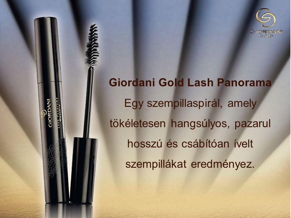 Giordani Gold Lash Panorama Egy szempillaspirál, amely tökéletesen hangsúlyos, pazarul hosszú és csábítóan ívelt szempillákat eredményez.