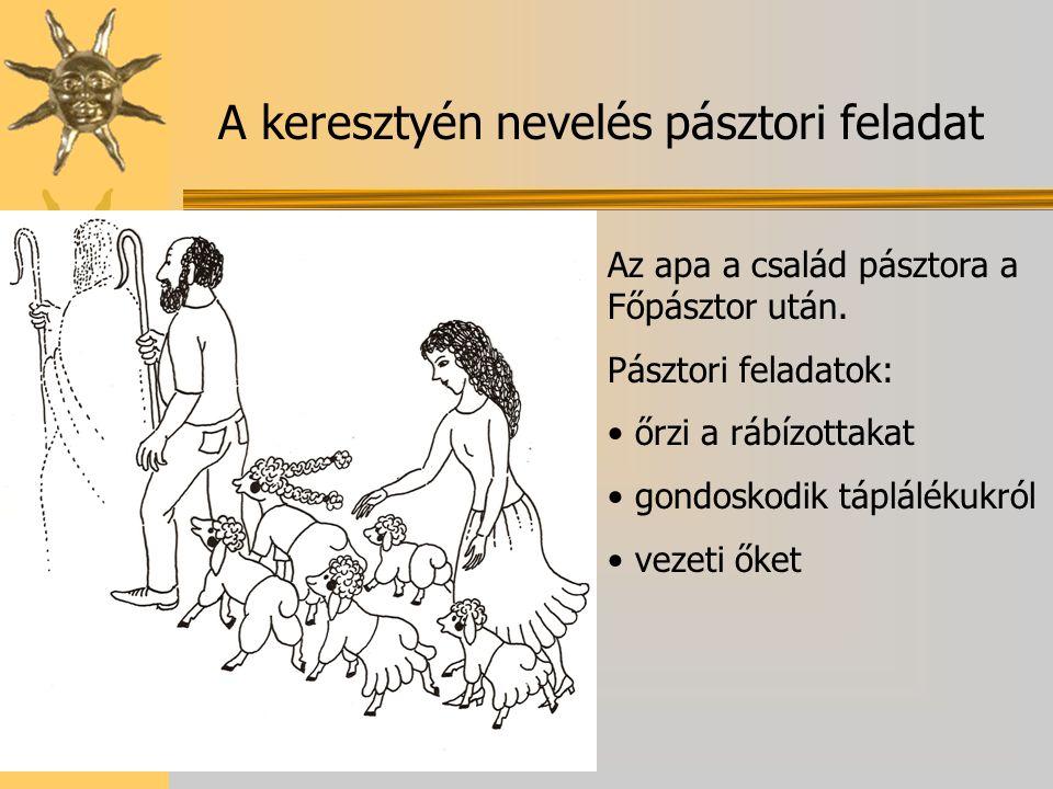 A keresztyén nevelés pásztori feladat