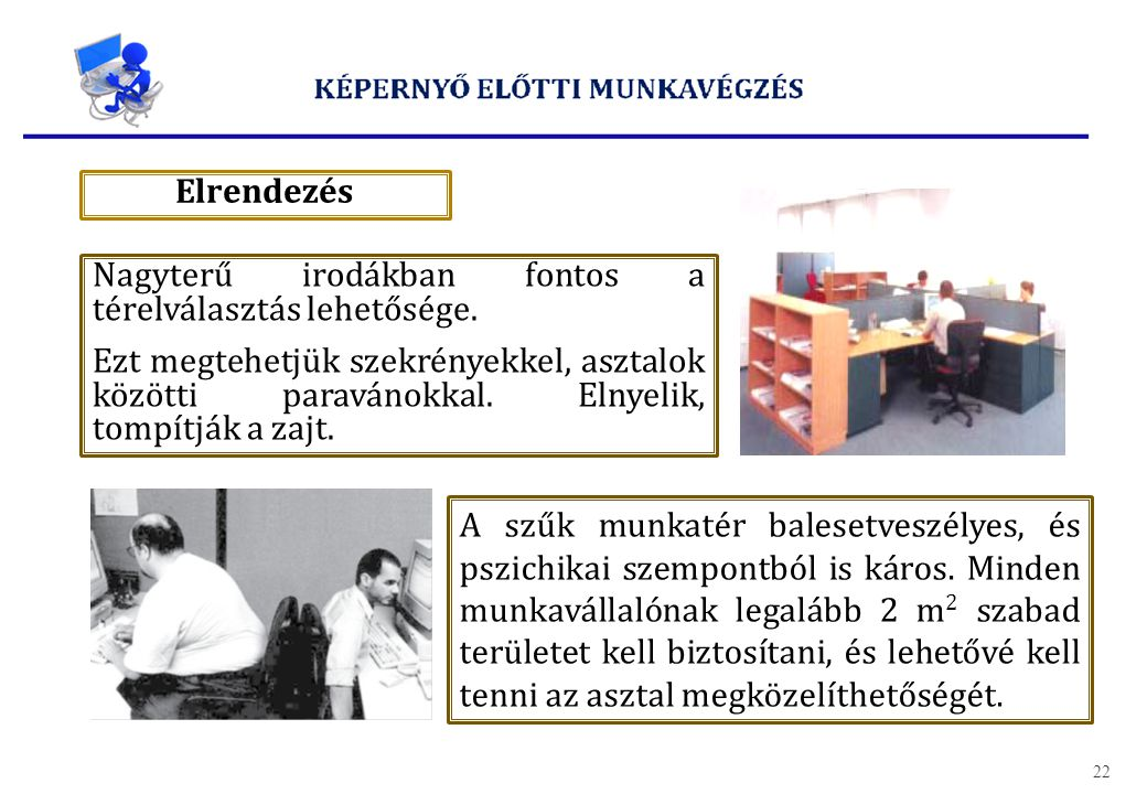 Képernyő előtti munkavégzés