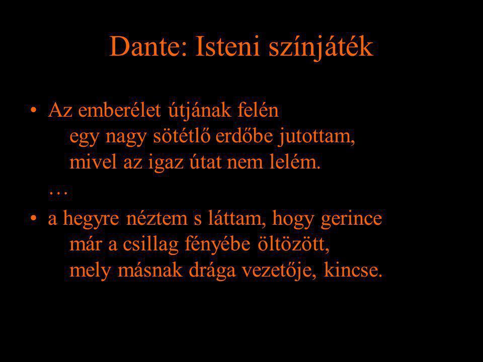 Dante: Isteni színjáték