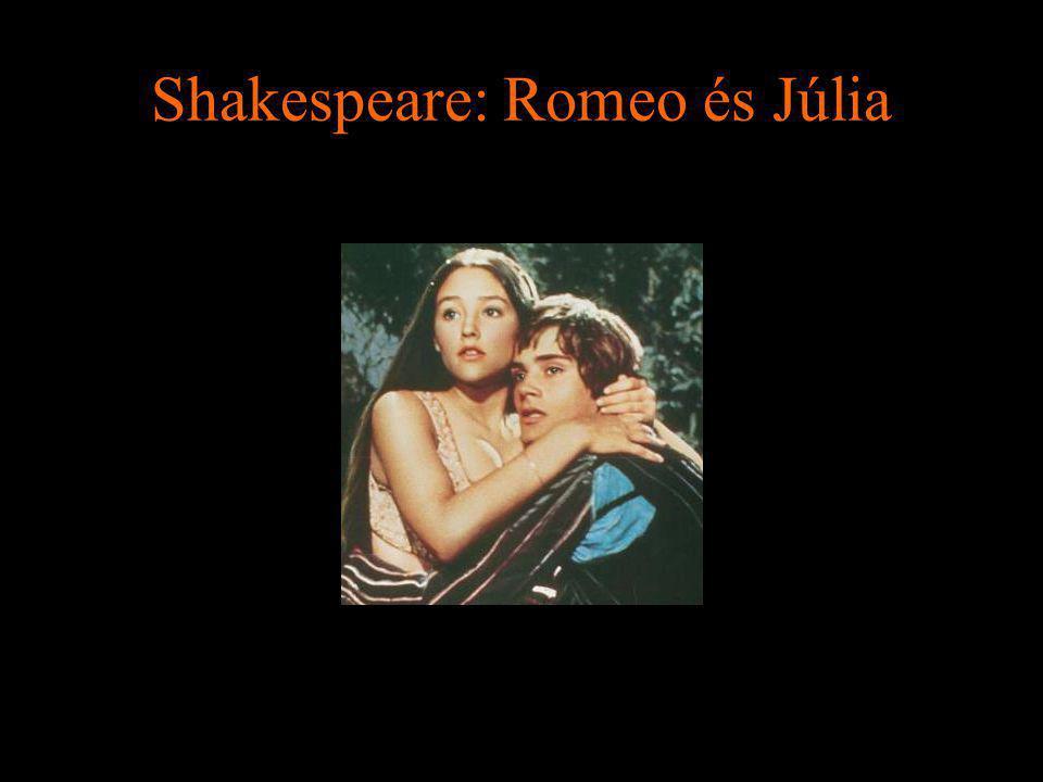 Shakespeare: Romeo és Júlia