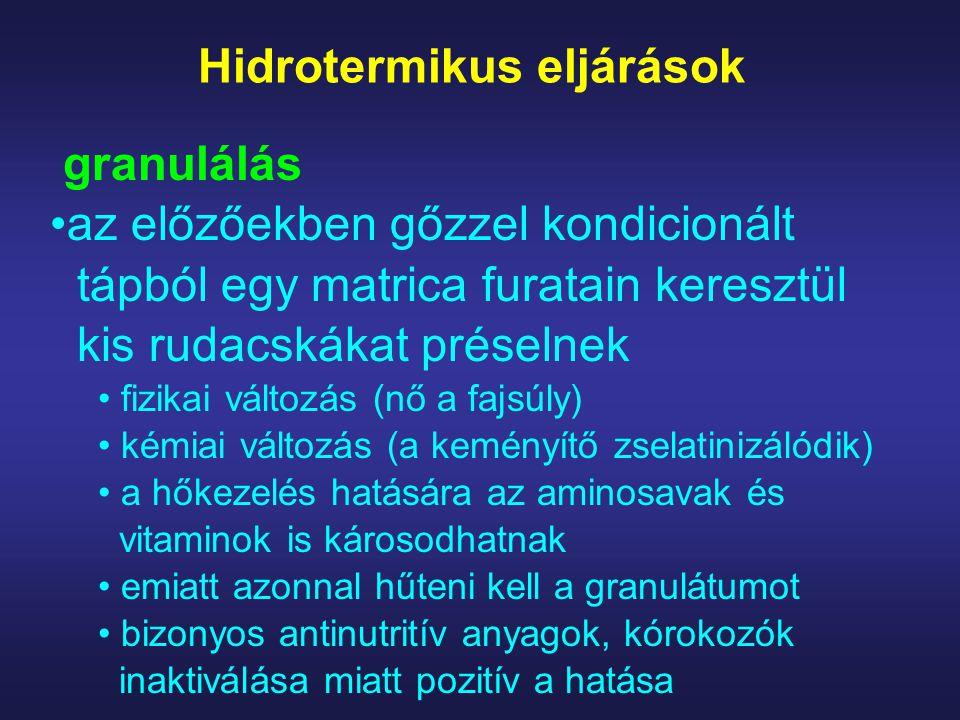 Hidrotermikus eljárások