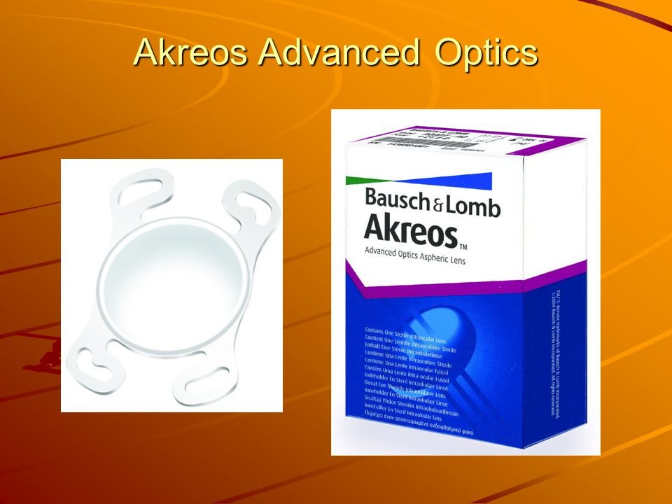Akreos Advanced Optics