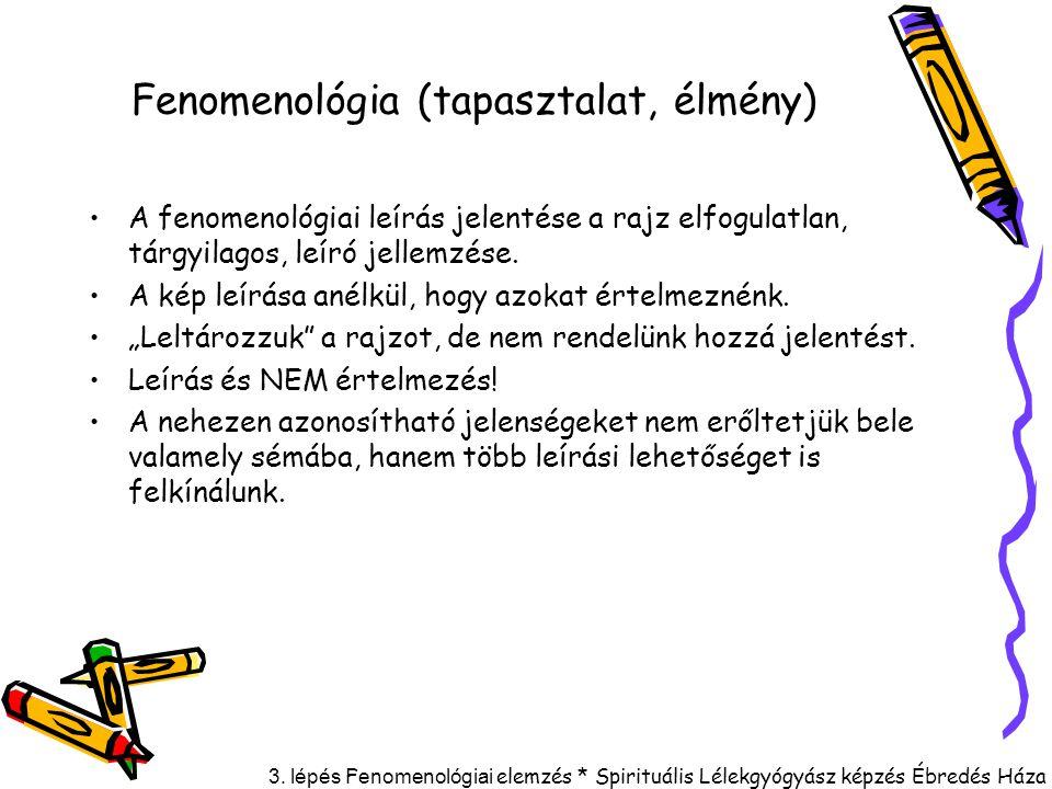 Fenomenológia (tapasztalat, élmény)