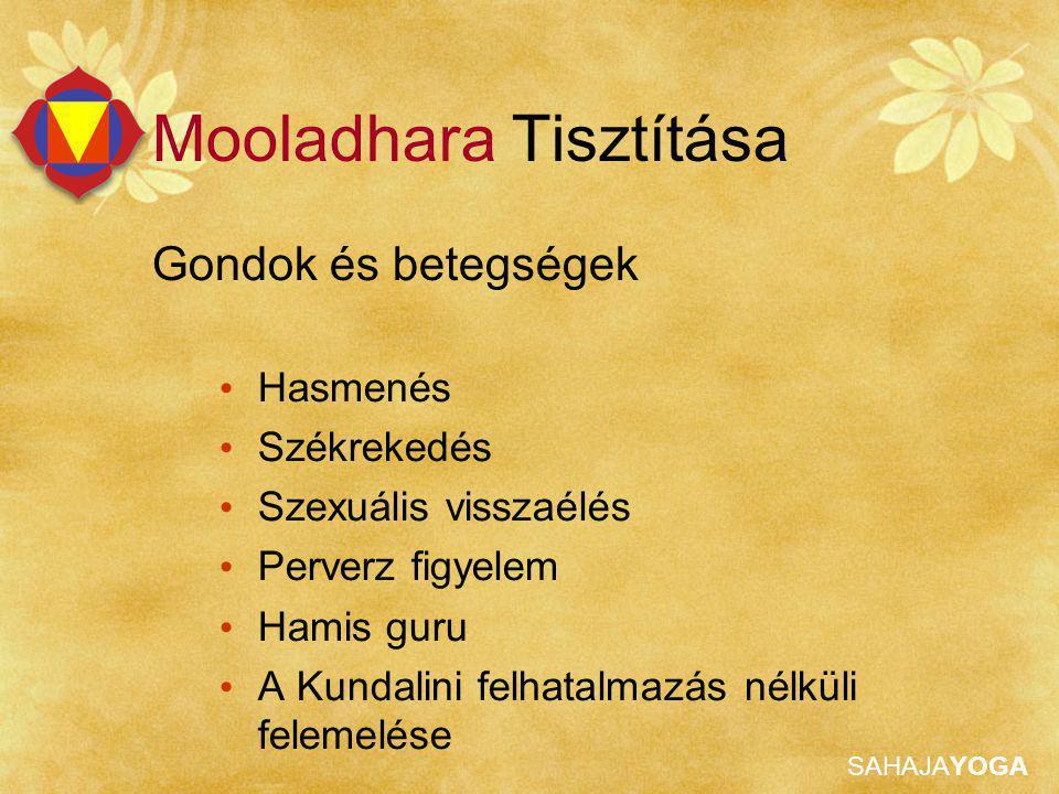 Mooladhara Tisztítása