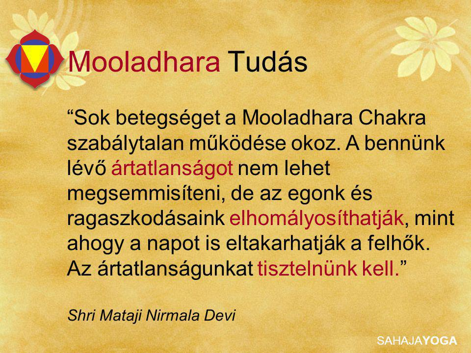 Mooladhara Tudás