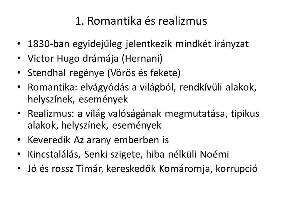 1. Romantika és realizmus
