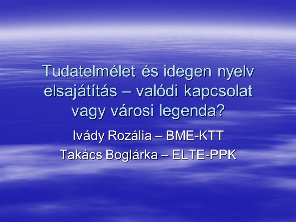 Ivády Rozália – BME-KTT Takács Boglárka – ELTE-PPK