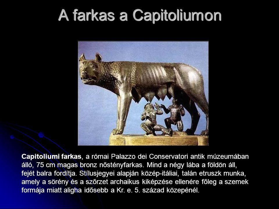 A farkas a Capitoliumon