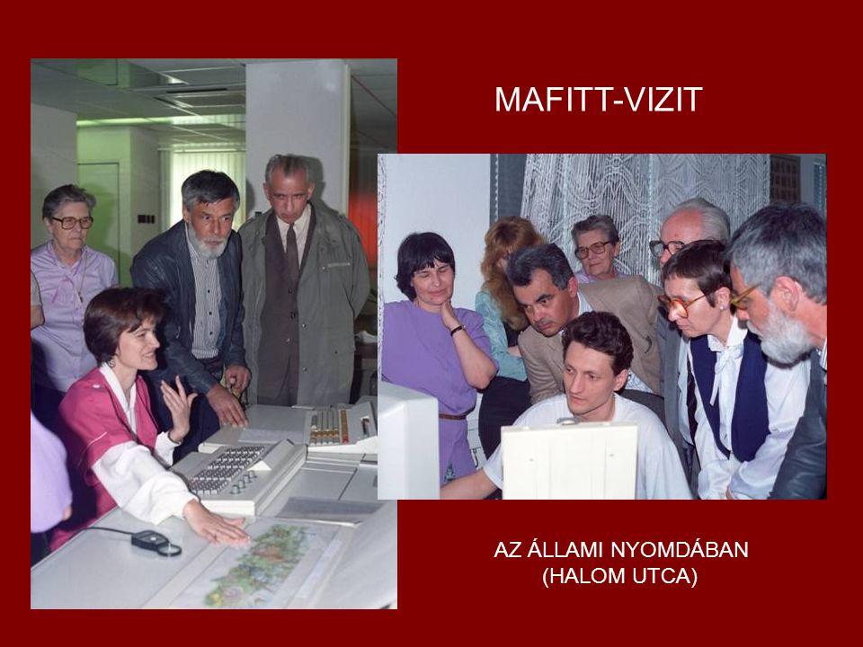 MAFITT-VIZIT AZ ÁLLAMI NYOMDÁBAN (HALOM UTCA)