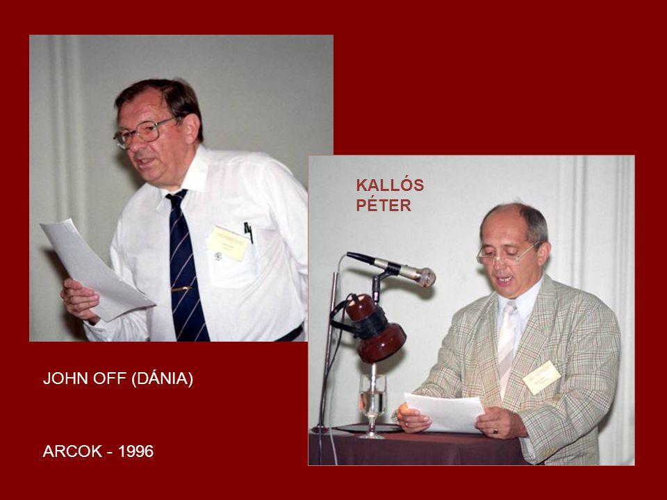 KALLÓS PÉTER JOHN OFF (DÁNIA) ARCOK - 1996