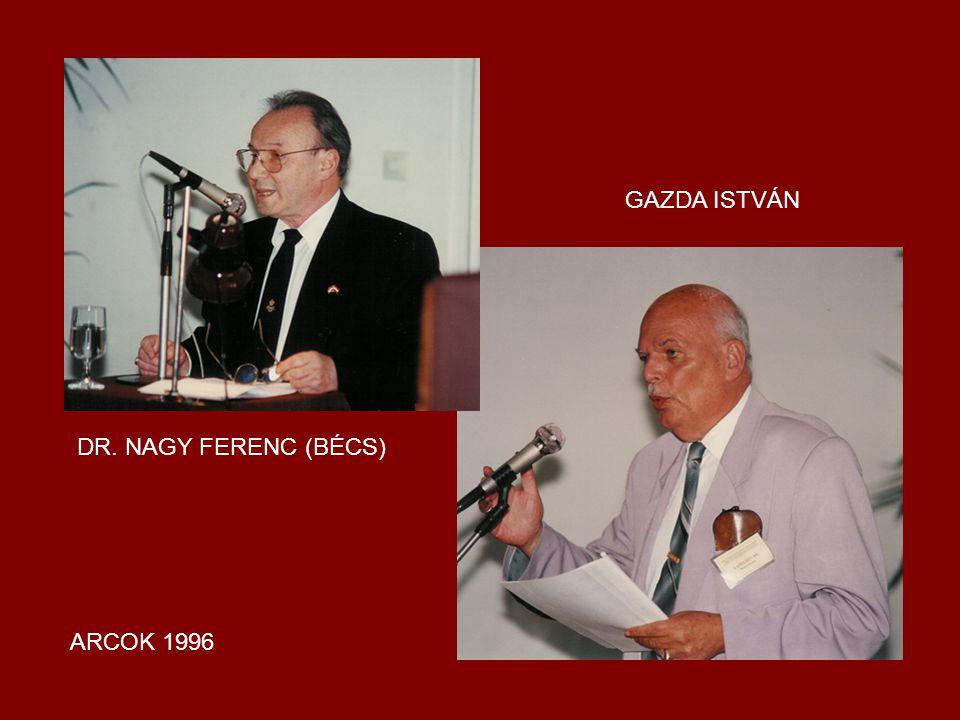 GAZDA ISTVÁN DR. NAGY FERENC (BÉCS) ARCOK 1996