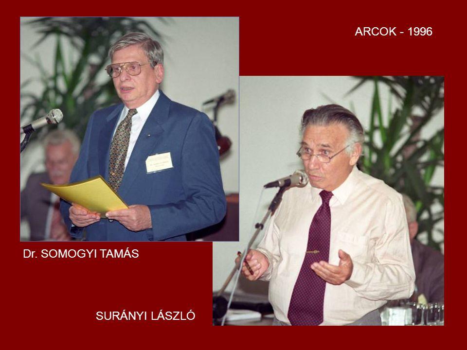 ARCOK - 1996 Dr. SOMOGYI TAMÁS SURÁNYI LÁSZLÓ