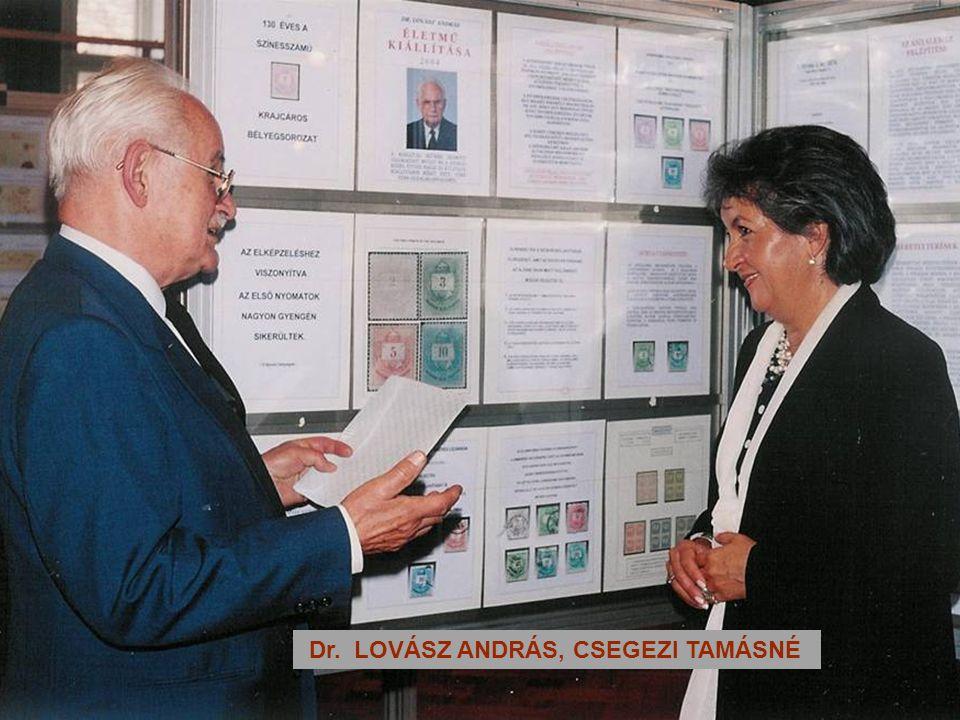 Dr. LOVÁSZ ANDRÁS, CSEGEZI TAMÁSNÉ