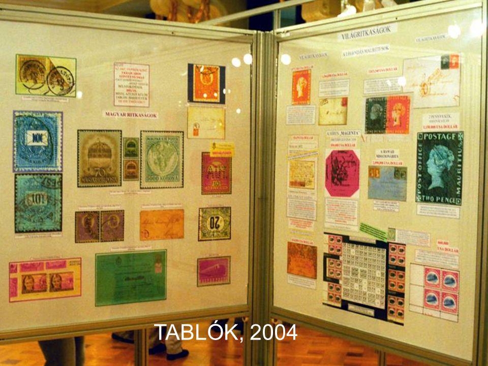 TABLÓK, 2004