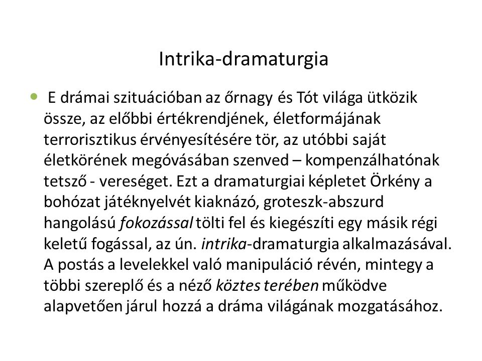 Intrika-dramaturgia