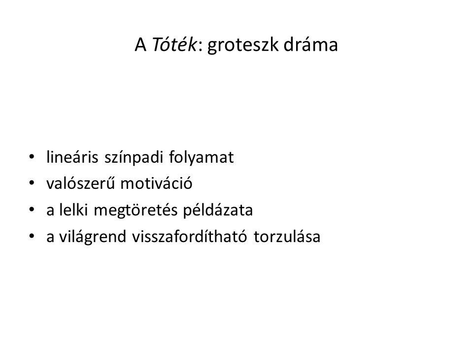 A Tóték: groteszk dráma