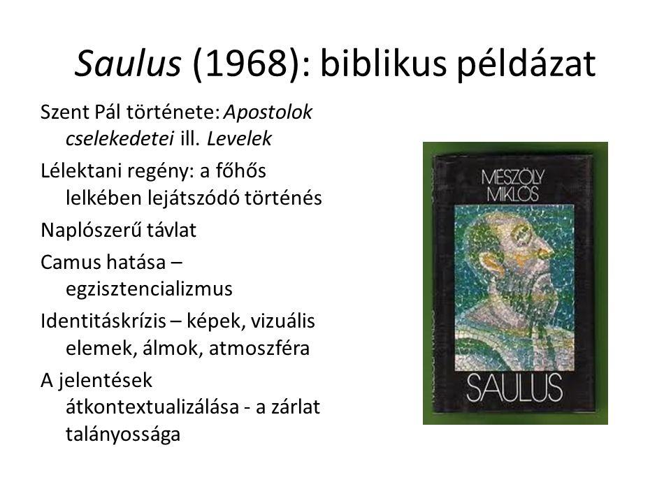 Saulus (1968): biblikus példázat