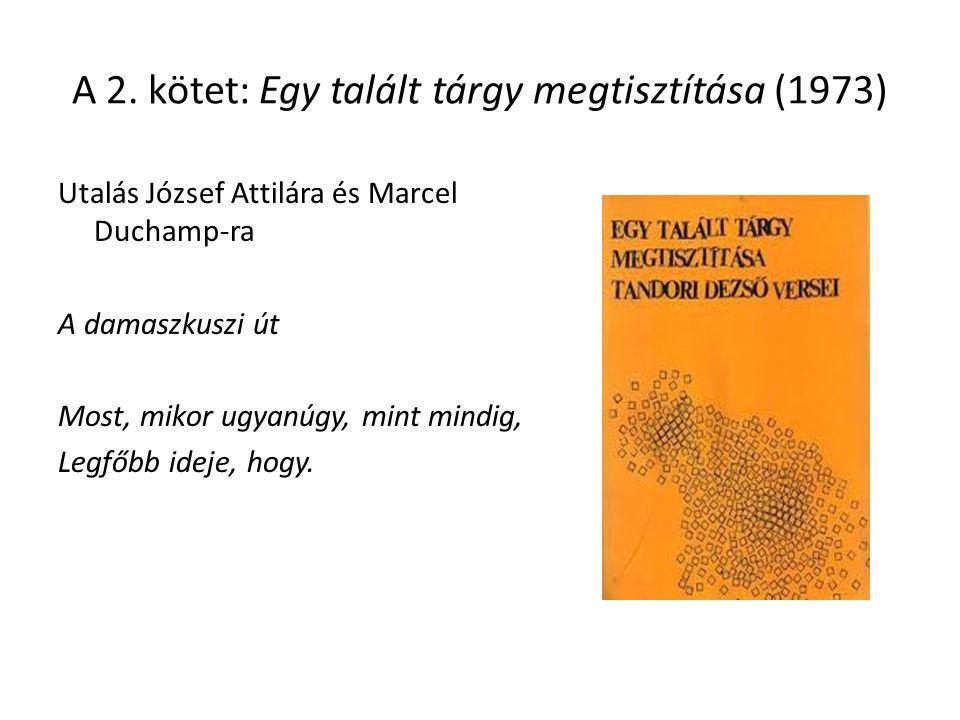 A 2. kötet: Egy talált tárgy megtisztítása (1973)