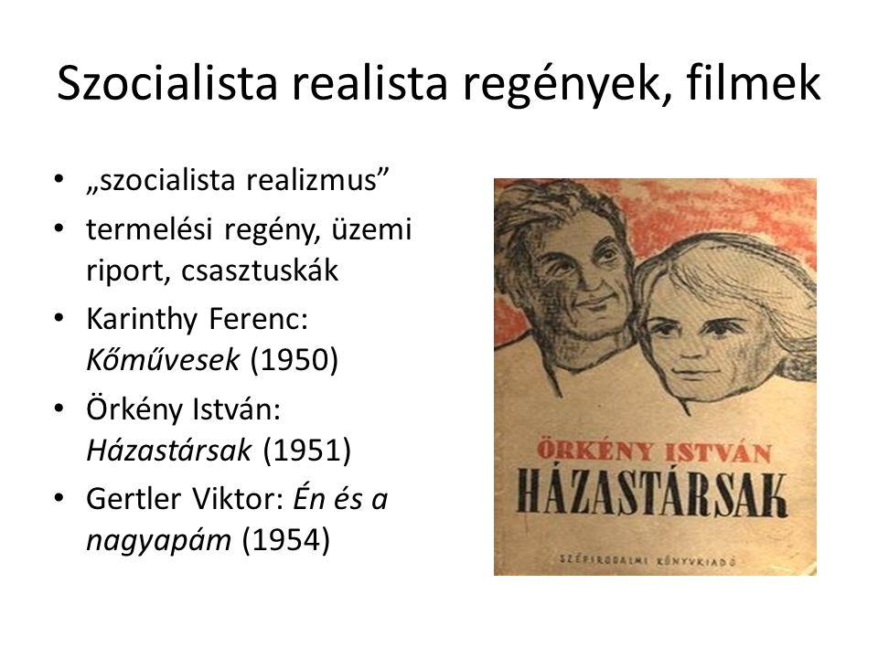 Szocialista realista regények, filmek