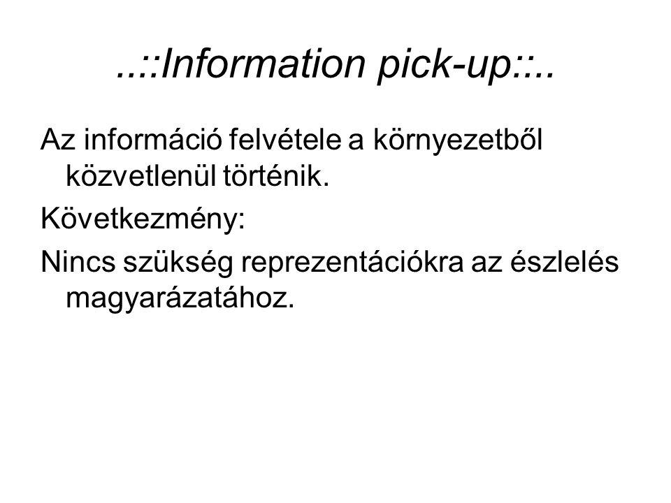 ..::Information pick-up::..