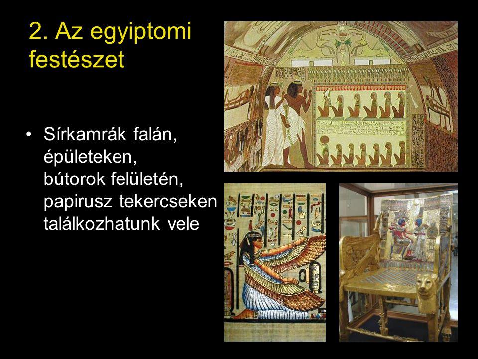 2. Az egyiptomi festészet