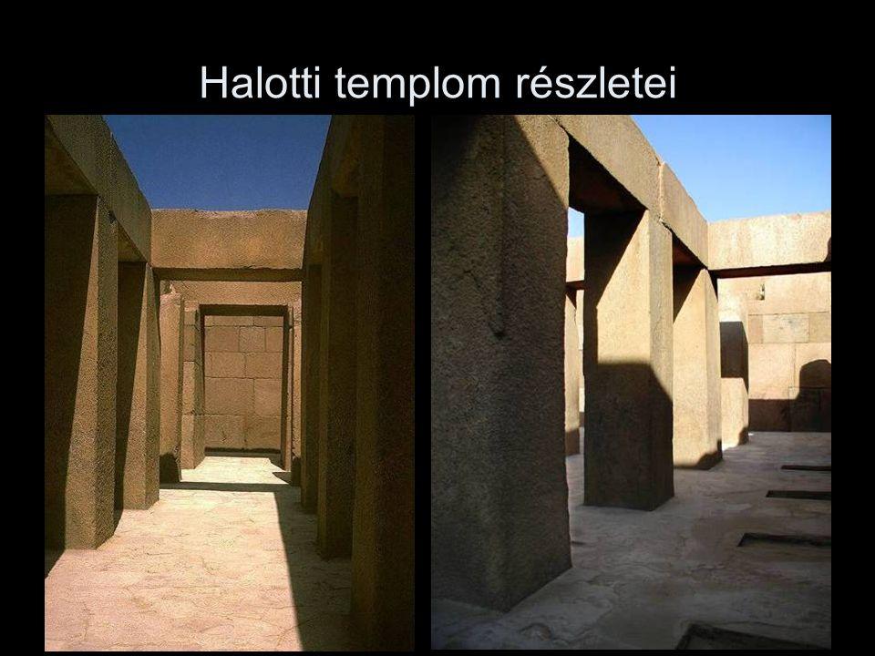 Halotti templom részletei