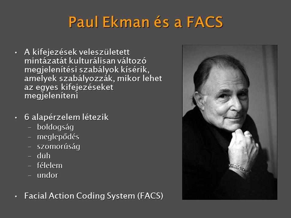 Paul Ekman és a FACS
