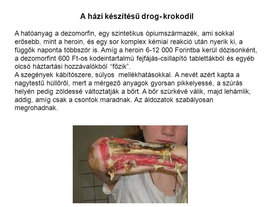 A házi készítésű drog- krokodil