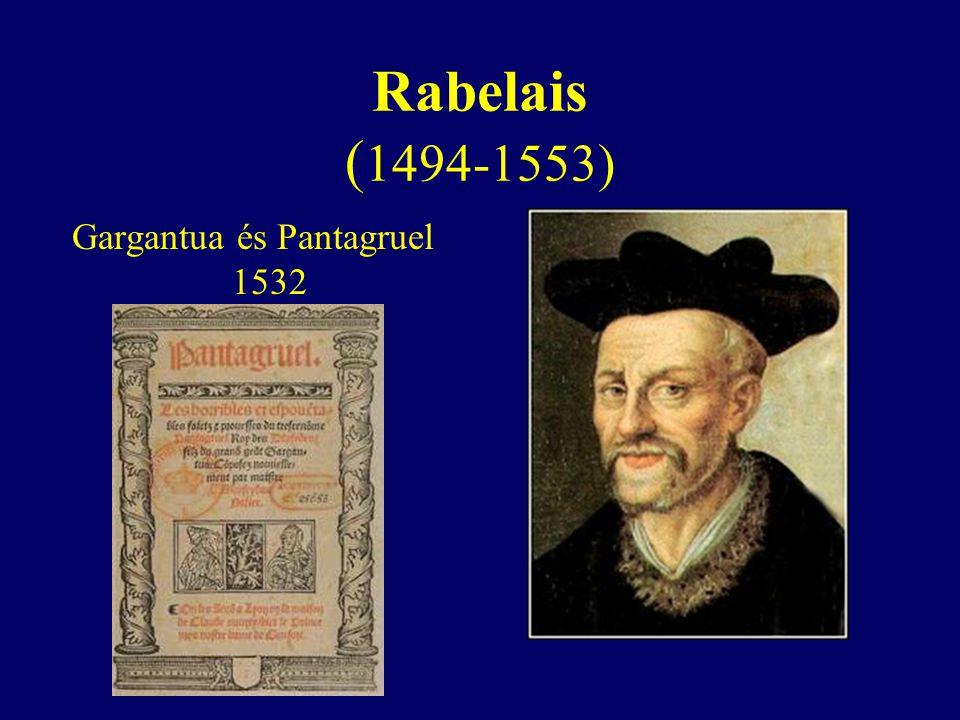 Gargantua és Pantagruel 1532