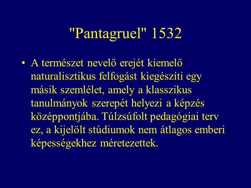 Pantagruel 1532
