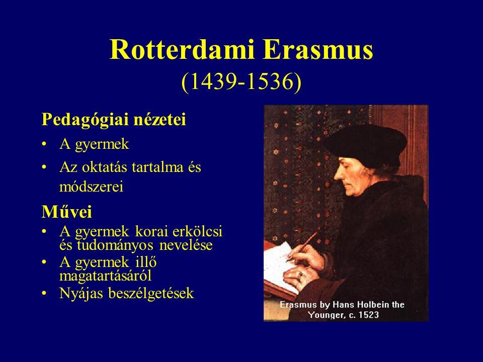 Rotterdami Erasmus (1439-1536)