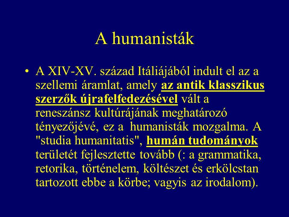 A humanisták