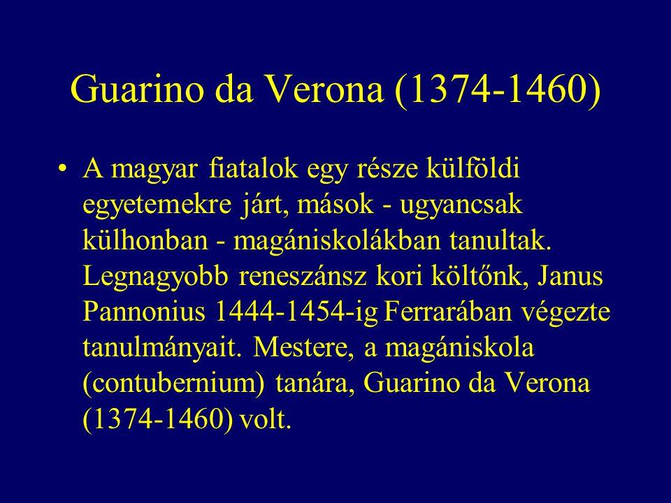 Guarino da Verona (1374-1460)