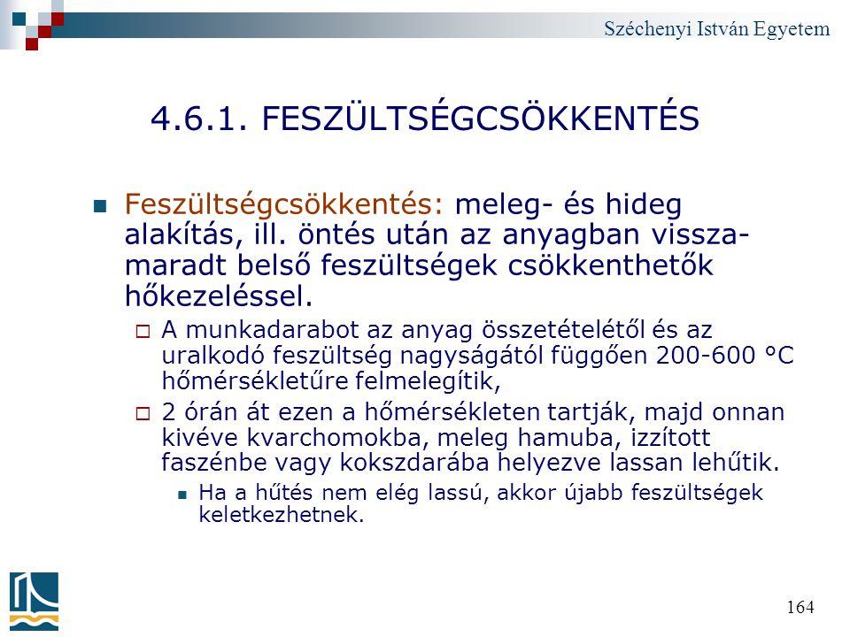 4.6.1. FESZÜLTSÉGCSÖKKENTÉS