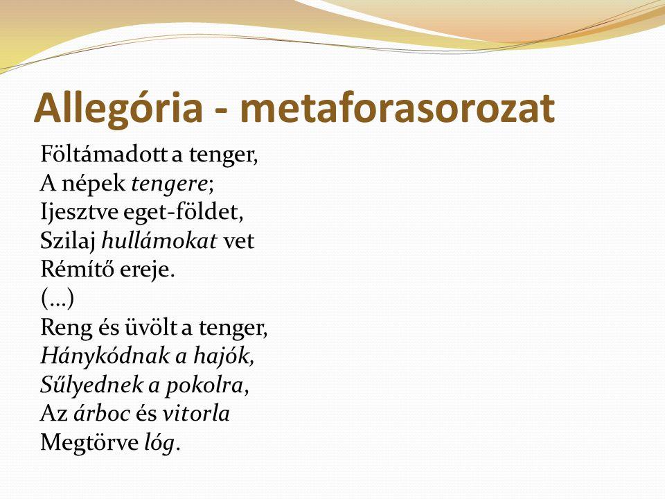 Allegória - metaforasorozat