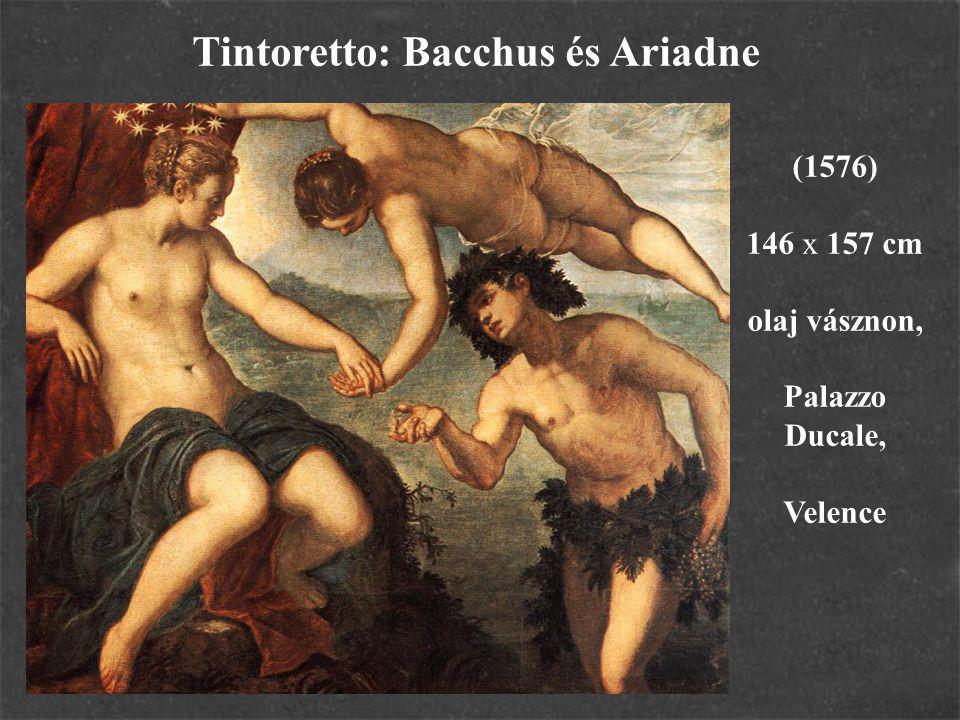 Tintoretto: Bacchus és Ariadne