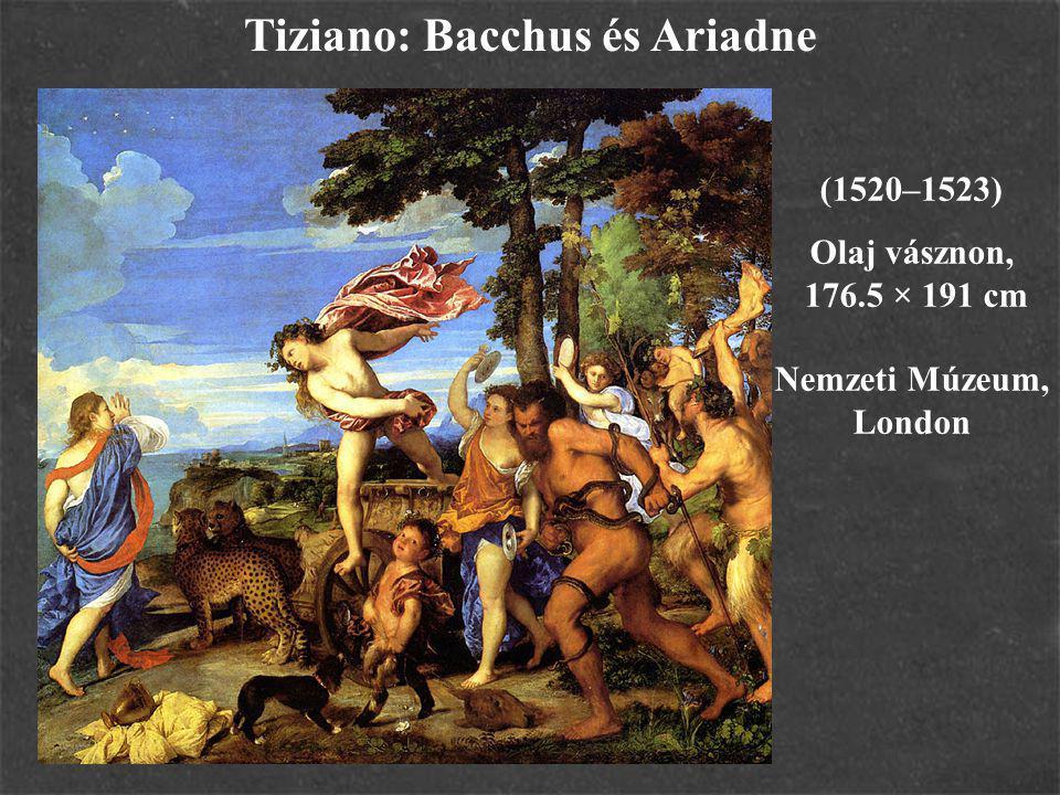 Tiziano: Bacchus és Ariadne