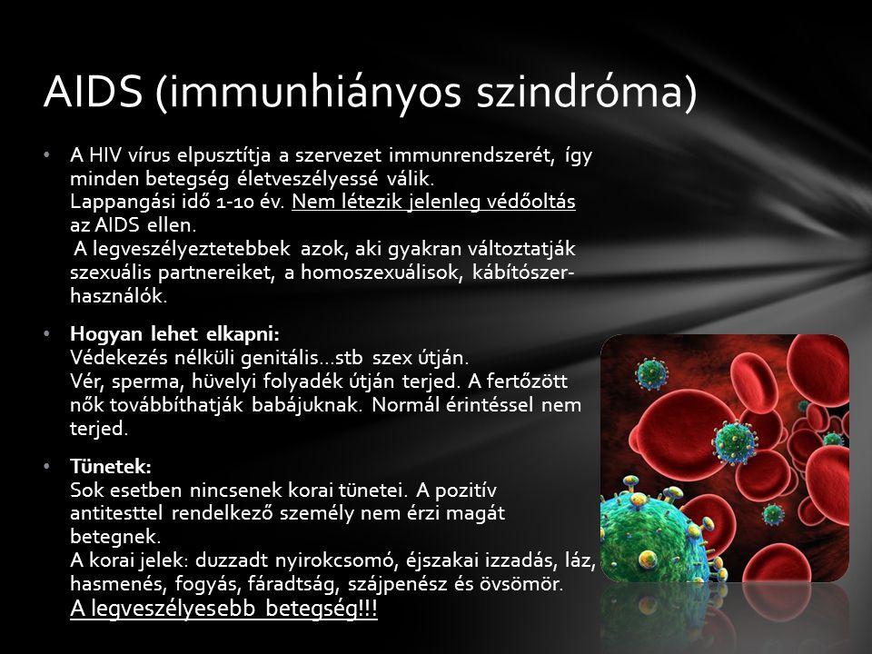 AIDS (immunhiányos szindróma)