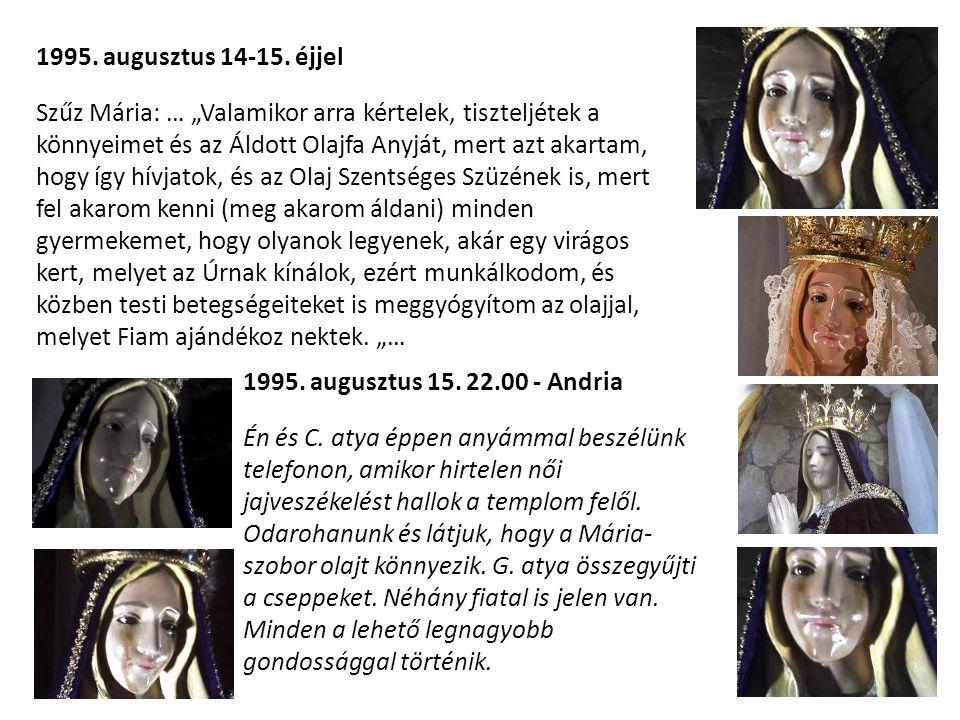 1995. augusztus 14-15. éjjel