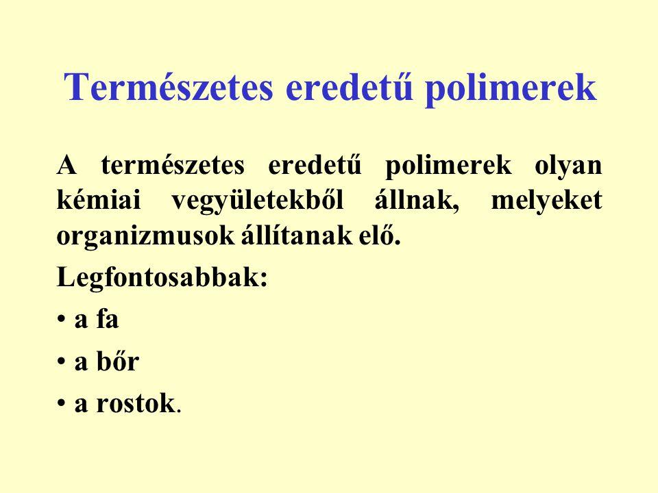 Természetes eredetű polimerek