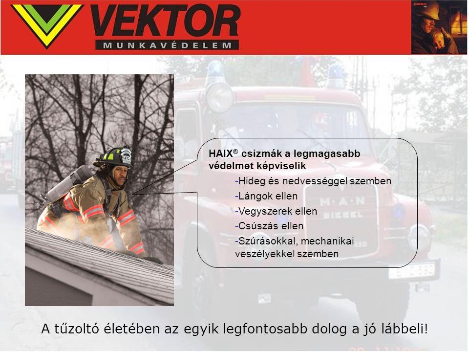 A tűzoltó életében az egyik legfontosabb dolog a jó lábbeli!