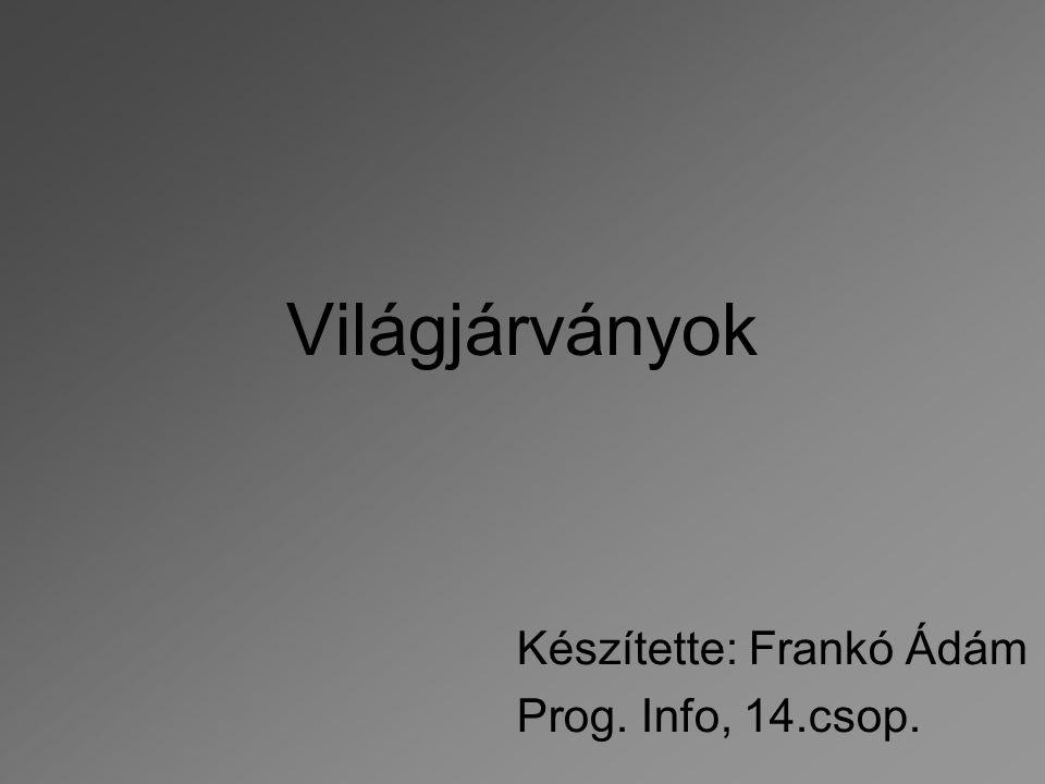 Készítette: Frankó Ádám Prog. Info, 14.csop.