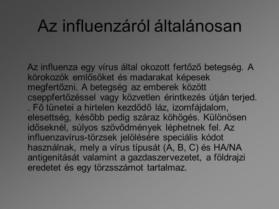 Az influenzáról általánosan