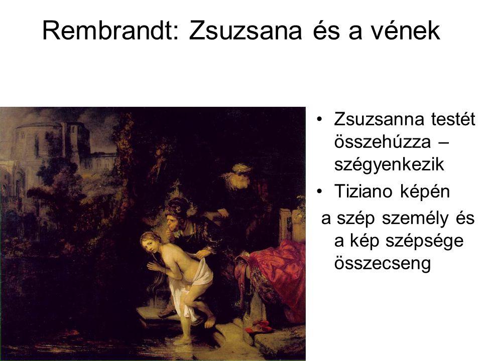 Rembrandt: Zsuzsana és a vének
