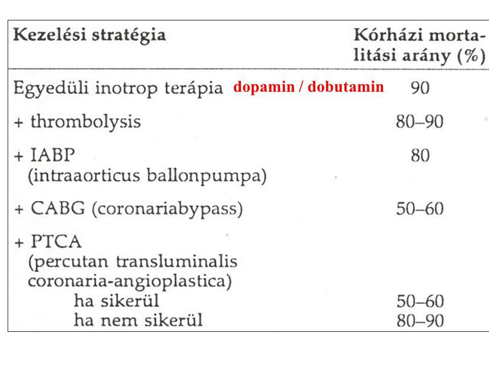 dopamin / dobutamin